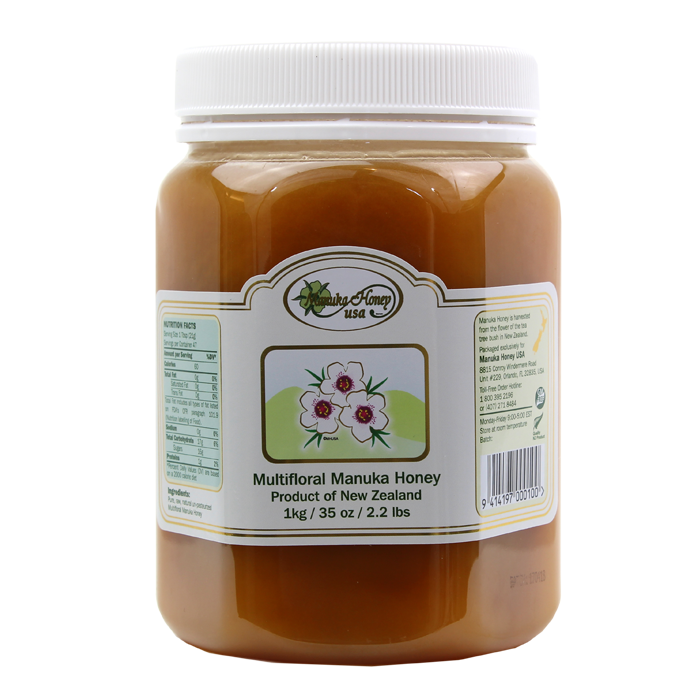 multifloral manuka honey regular large