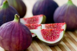 fig recipes, blue borage honey with figs