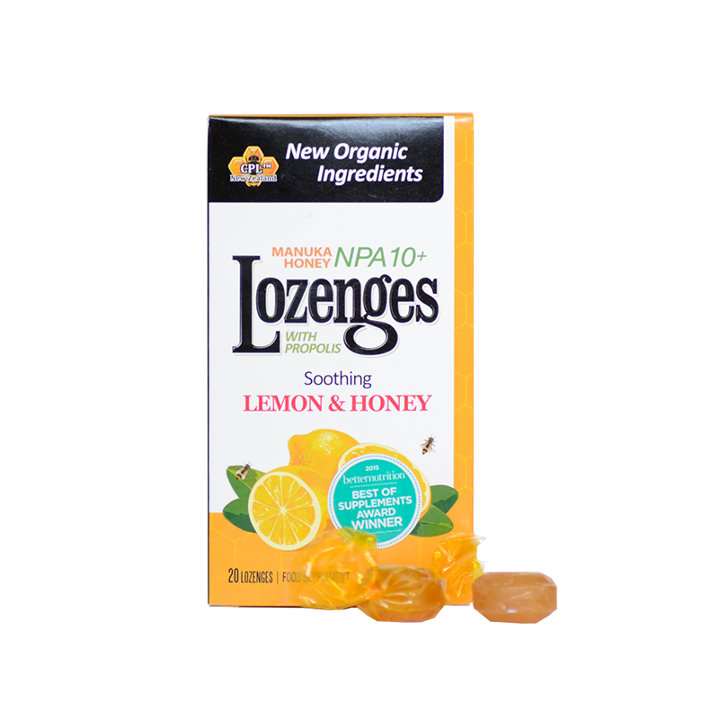 Manuka Lemon Lozenges