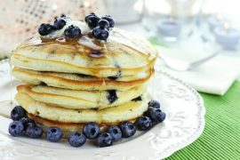 honey recipes, raw honey, pancake recipes